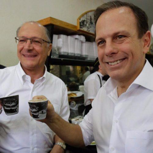 """Em convenção municipal do PSDB, Doria e Alckmin falam em """"unidade"""""""