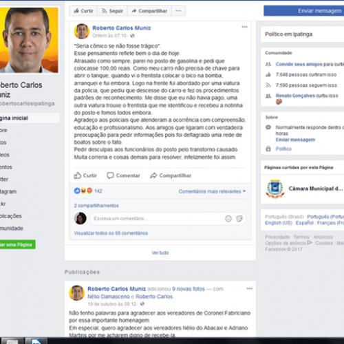 Ex-vereador dá calote em posto de gasolina e vídeo viraliza nas redes sociais; assista