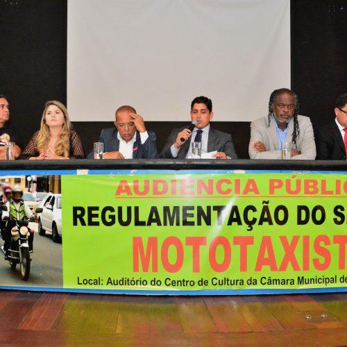 Mototaxistas pedem flexibilização da lei que regulamenta a atividade