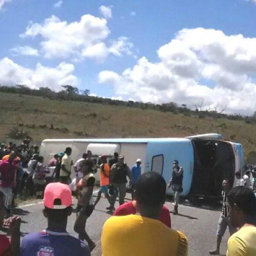 Número de feridos em acidente na Chapada Diamantina sobre para 27