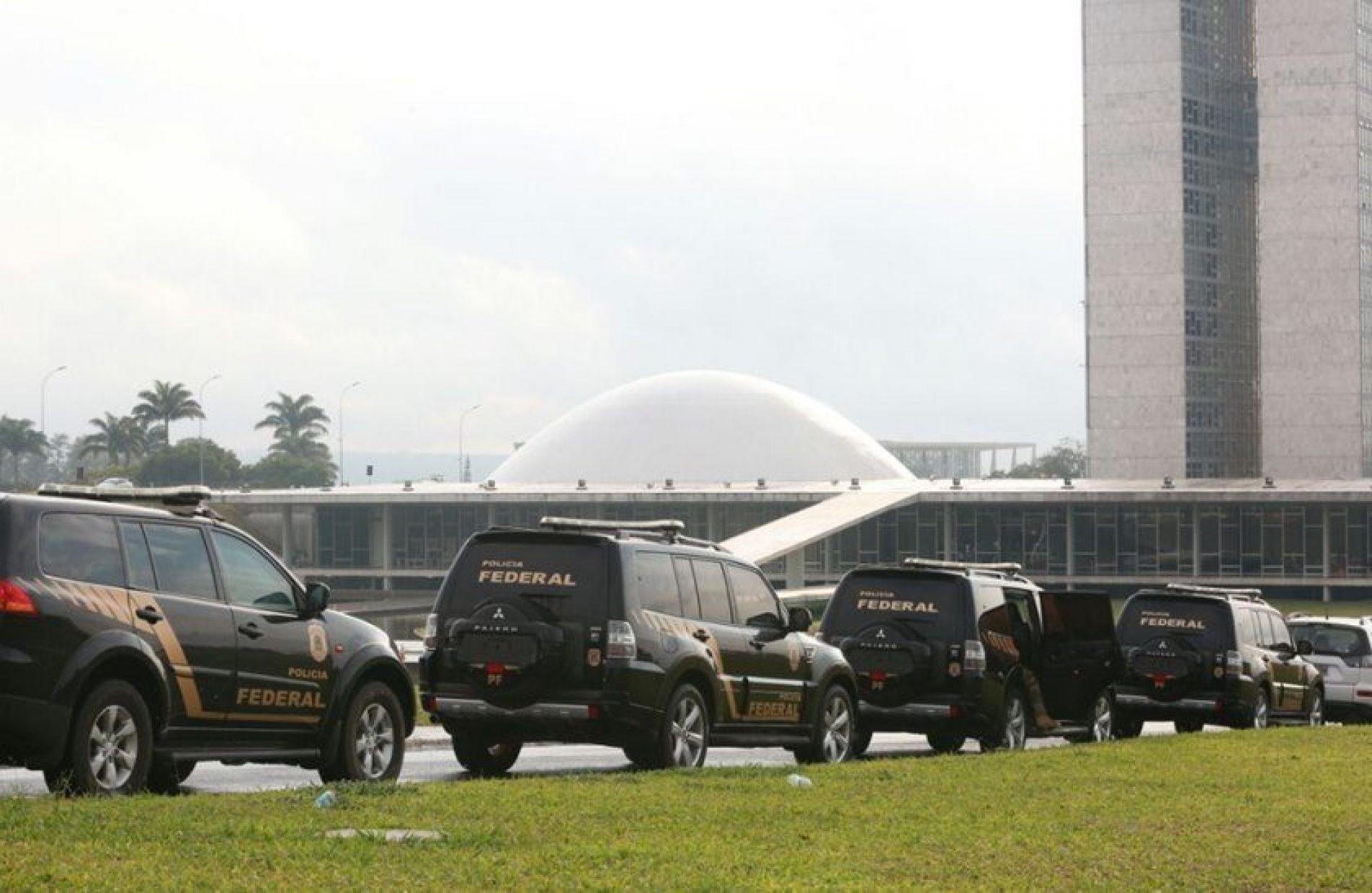 Polícia Federal faz buscas na Câmara dos Deputados: cumprem mandado de busca e apreensão no gabinete do deputado Lúcio Vieira Lima