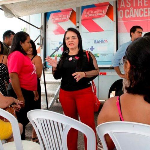 Lauro de Freitas intensifica campanha do Outubro Rosa com mutirão de mamografias