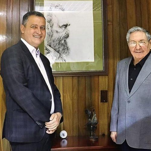 Rui se encontra com Raul Castro em Cuba
