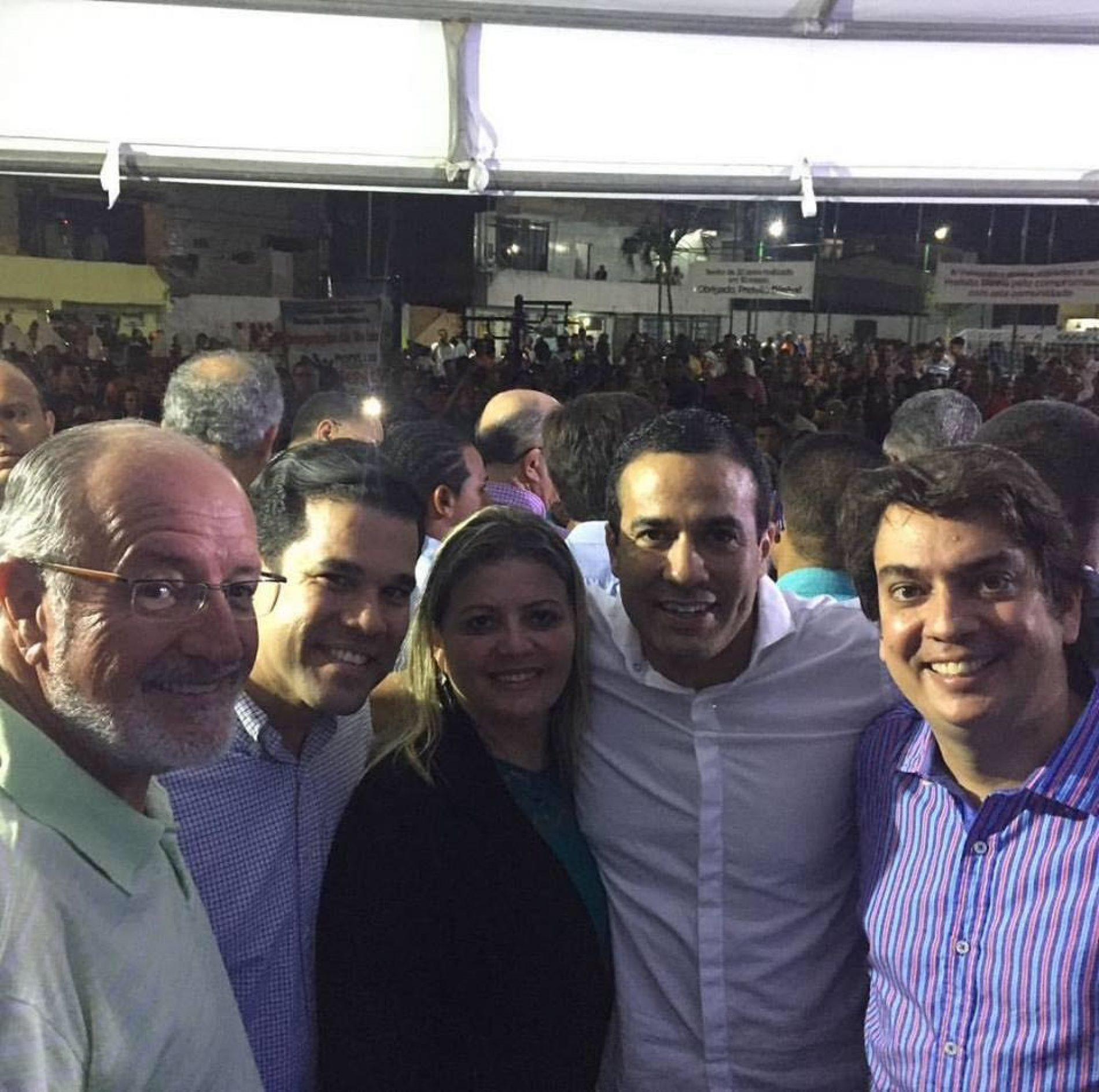 Após inauguração em Simões Filho, Pedro Tavares destaca força do partido no Estado