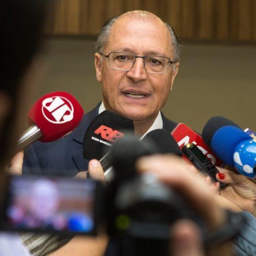 Assumir a presidência do PSDB foi um pedido de FHC, diz Alckmin
