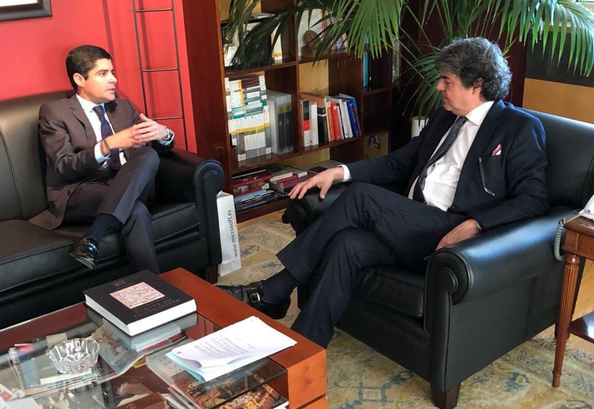 Cenários e possíveis investimentos entre Salvador e Espanha são tratados em encontro