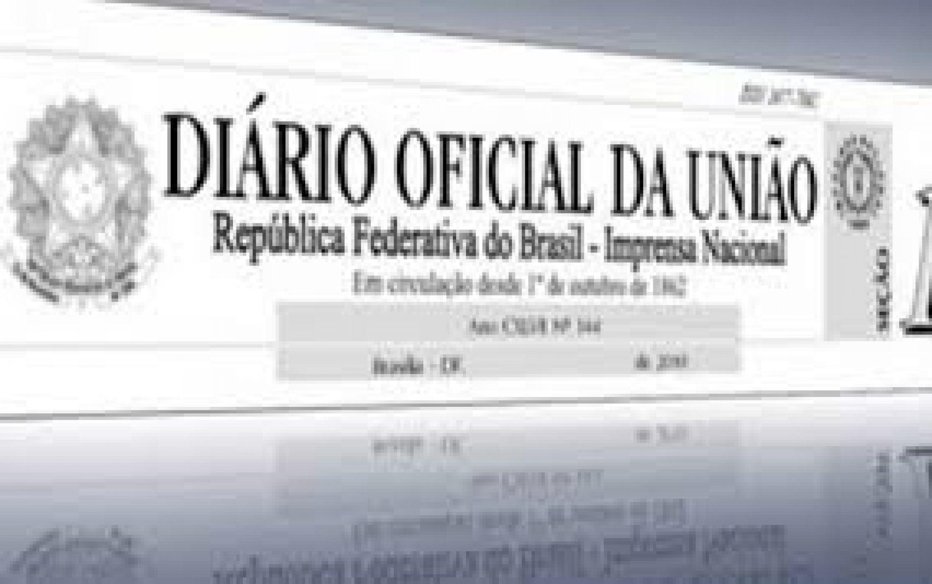 ACABOU! Depois de 155 anos, Diário Oficial da União deixa de ter versão impressa
