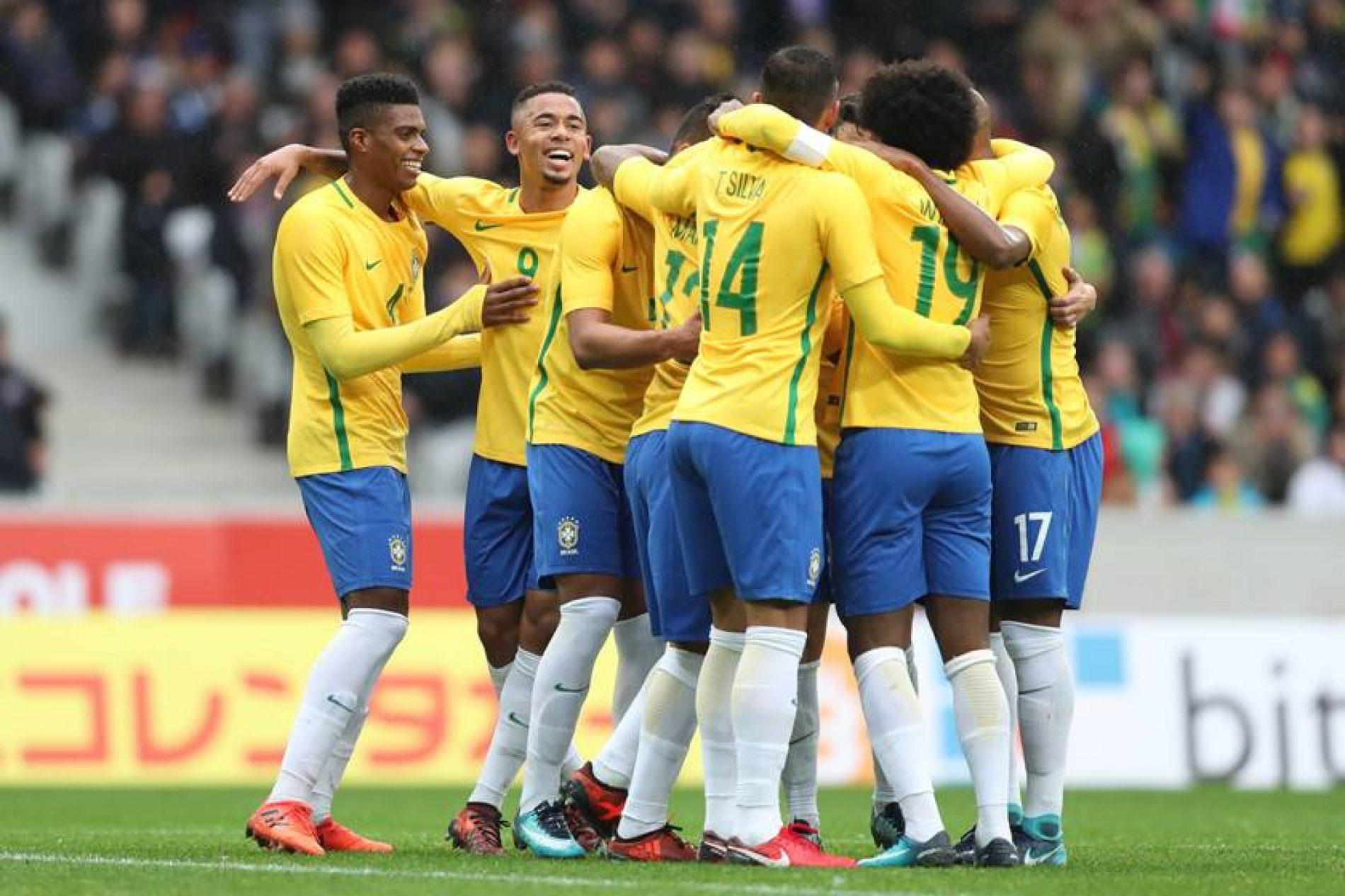 Em jogo morno, Brasil vence Japão com ajuda da arbitragem de vídeo
