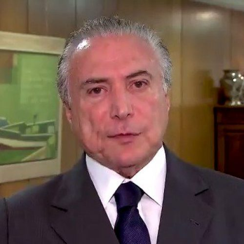 """Em mensagem de Natal, Temer diz que está """"mais barato viver"""" no Brasil;ASSISTA"""