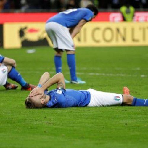 Itália fica fora da Copa do Mundo de 2018 e Suécia se classifica