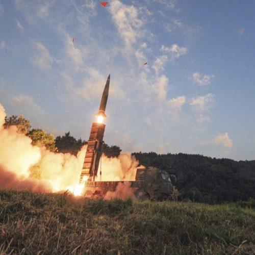 Míssil balístico da Coreia do Norte cai em território marinho japonês