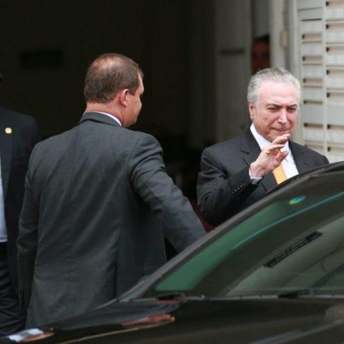 Moreira Franco, Imbassahy e Baldy têm reunião com Temer e Maia