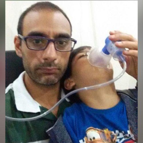 Ipiaú: Pai faz campanha para arrecadar R$ 5 mil e salvar vida do filho