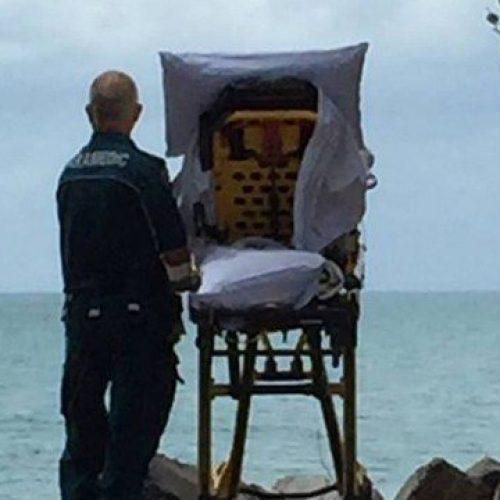 Paramédicos mudam rota para paciente terminal ver mar pela última vez