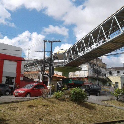 Camaçari: Passarela será interditada para manutenção na quarta