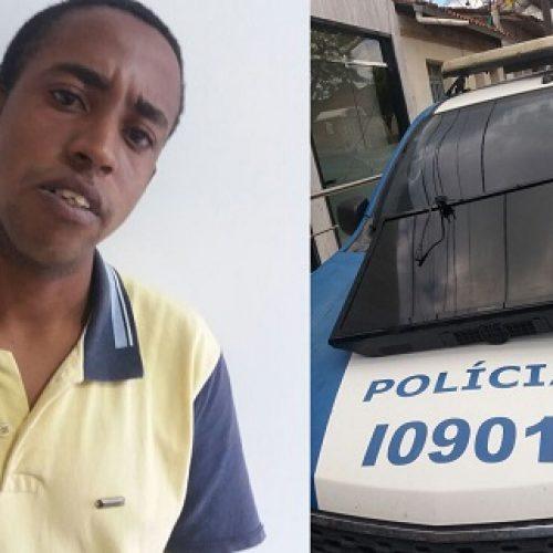 Ibirataia: Polícia Civil recupera tv furtada em Secretaria de Saúde e prende suspeito