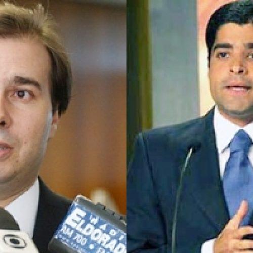 """""""Acho que será candidato a governador, mas seria um candidato fortíssimo à presidência do Brasil""""opina Maia sobre ACM Neto"""