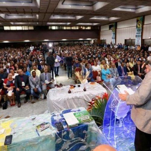 Angelo Coronel prestigia a convenção das Assembleias de Deus com a presença de cerca de 3,5 mil participantes