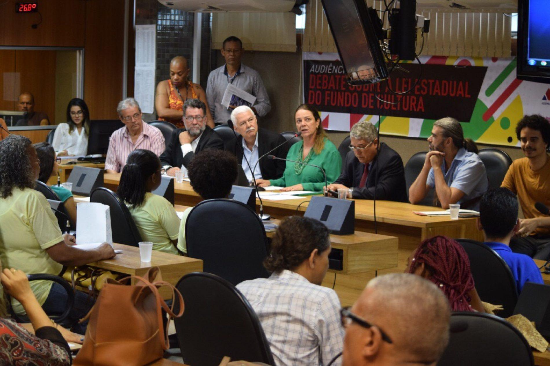 ALBA: Audiência discute a Lei Estadual do Fundo de Cultura
