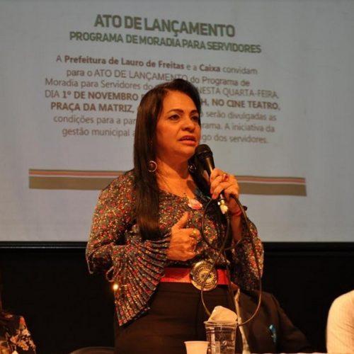Lauro de Freitas: Moema lança programa da casa própria para servidor e já anuncia ampliação
