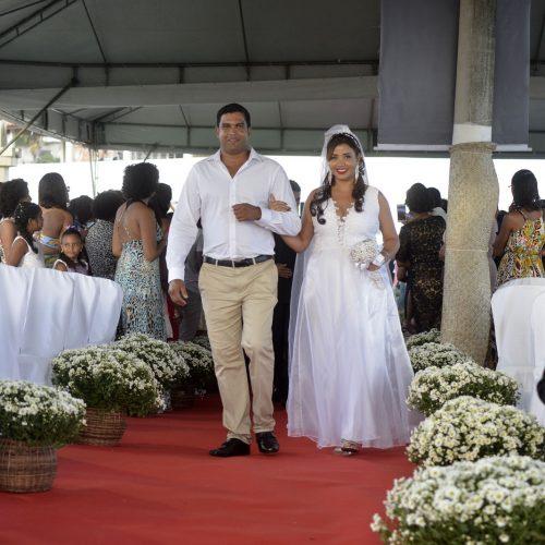 Semps promove casamento coletivo de 50 casais em parceria com o TJ-BA
