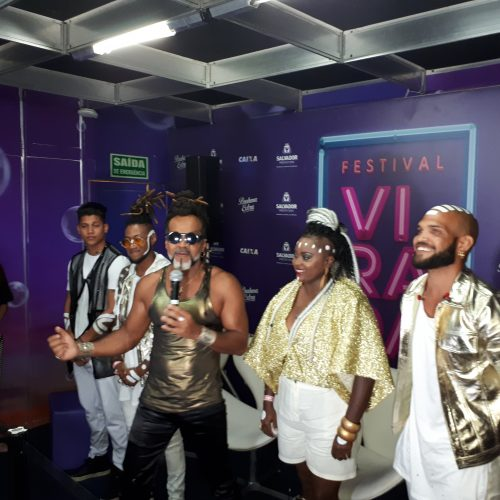 Festival Virada: Carlinhos Brown revela sonho em tocar na Itinga