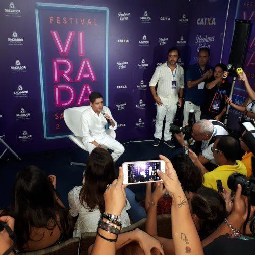 Eleições 2018: Neto diz que Festival Virada só sai da Boca do Rio se Bruno Reis quiser