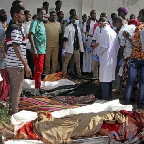 Ataque de homem-bomba deixa pelo menos 13 mortos e 15 feridos na Somália