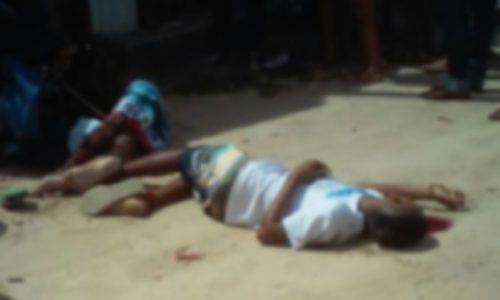 Cadeirante e sobrinho menor são assassinados a tiros em Teixeira de Freitas