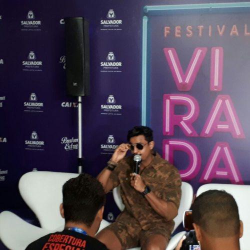 Festival da Virada é um grande sonho, destaca cantor da Duas Medidas