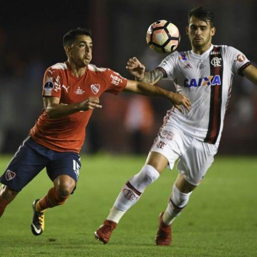 Flamengo perde por 2×1 para o Independiente, em Buenos Aires