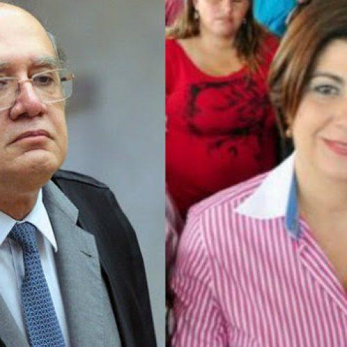 Gilmar Mendes manda tirar tornozeleira de Rosinha Garotinho