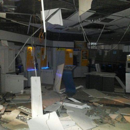 Grupo explode agência e atira contra delegacia em Amélia Rodrigues