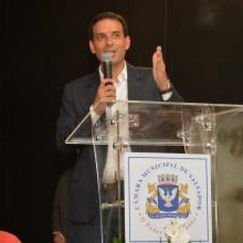 Leo Prates apresenta avanços da CMS na abertura do Interlegis