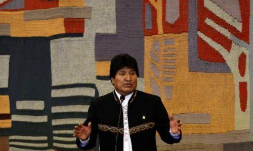 Morales é confirmado como candidato do MAS à reeleição em 2019