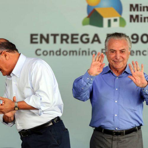 PMDB e PSDB só projetam aliança em três estados para 2018