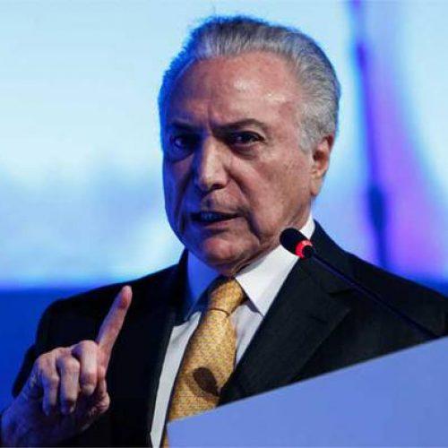 Temer cancela participação em convenção do PMDB