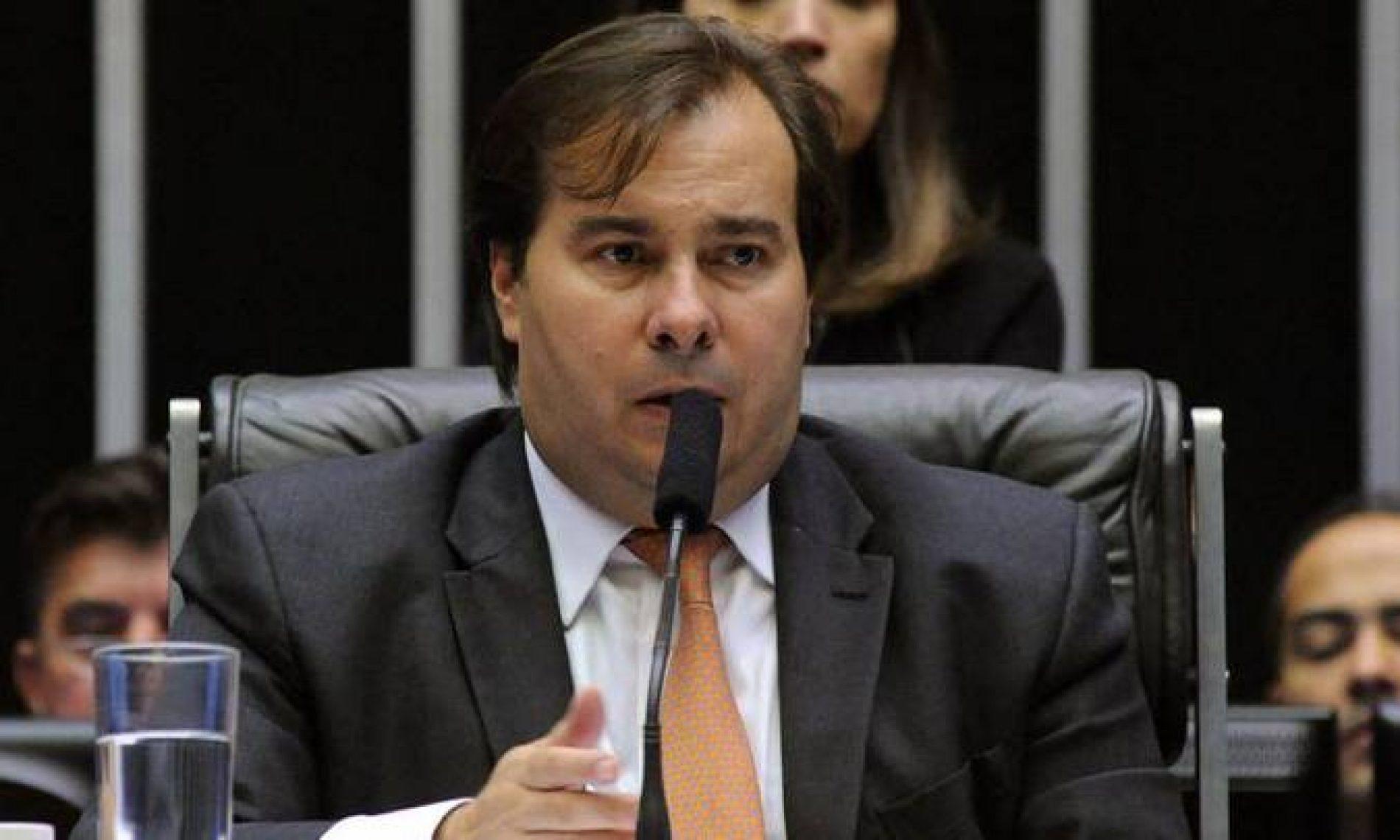 """Prazo para votar Previdência é """"fevereiro, e ponto final"""", diz Rodrigo Maia"""