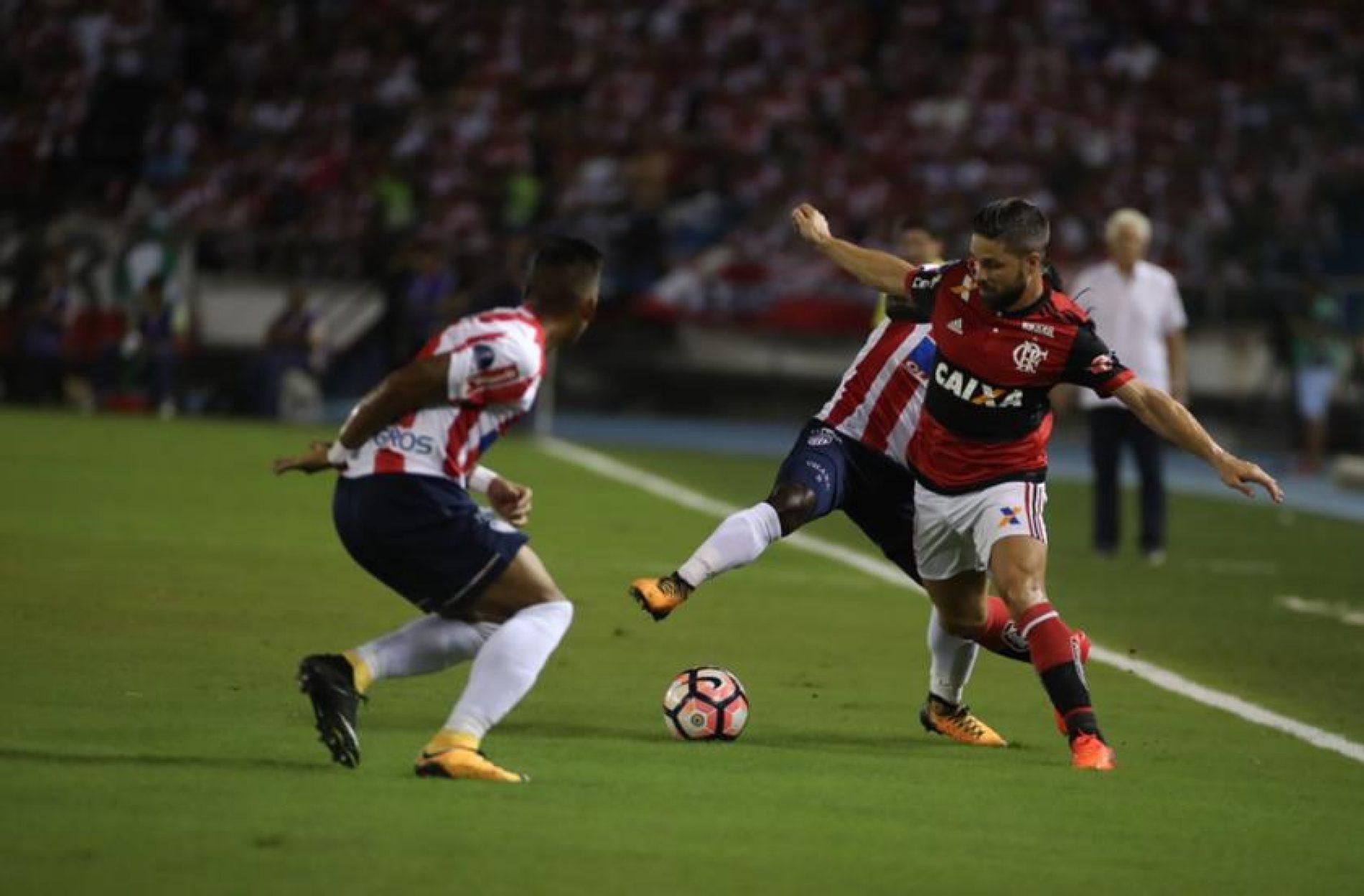 Sem Muralha, Flamengo vence na Colômbia e vai à final da Sul-Americana