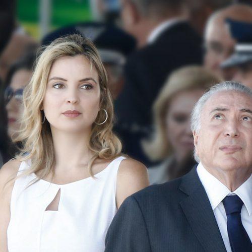 Temer diz que Marcela não o quer na disputa eleitoral de 2018