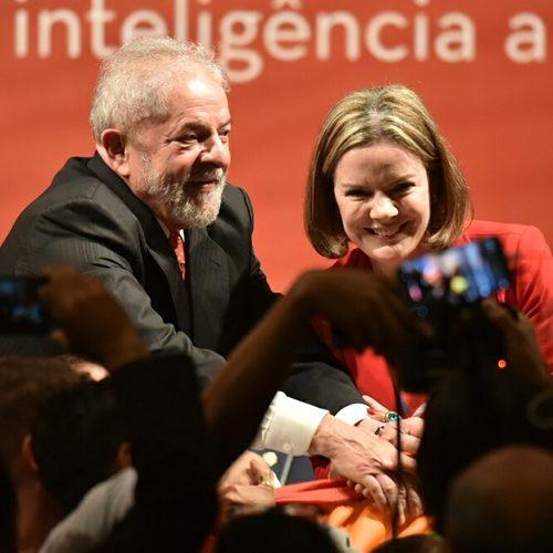 "Gleisi: Tribunal age de forma ""no mínimo excepcional"" contra Lula"