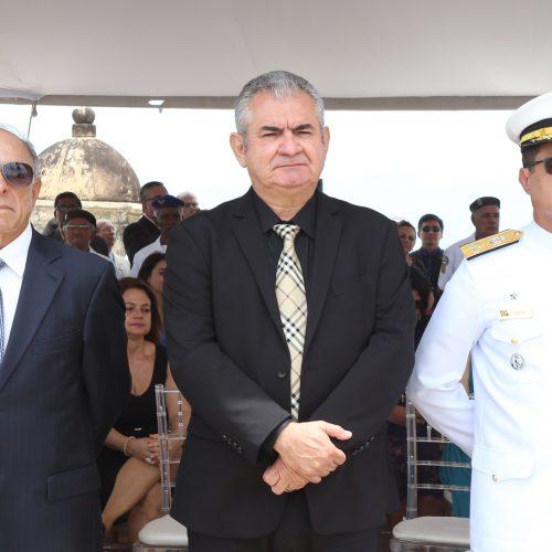 Coronel destaca papel da Marinha na soberania nacional em solenidade militar