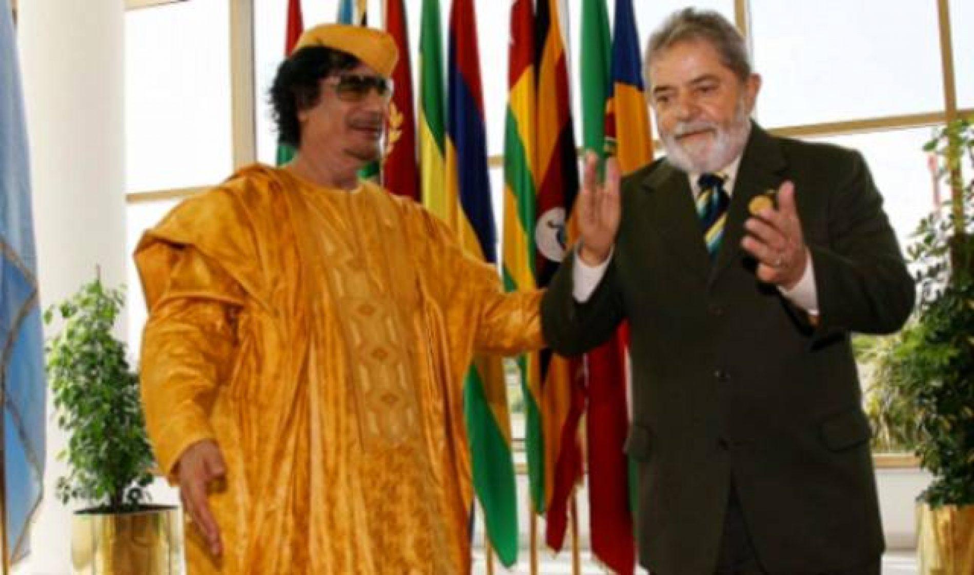 PALOCCI: 'ex-ditador Kaddafi abasteceu campanha de Lula'