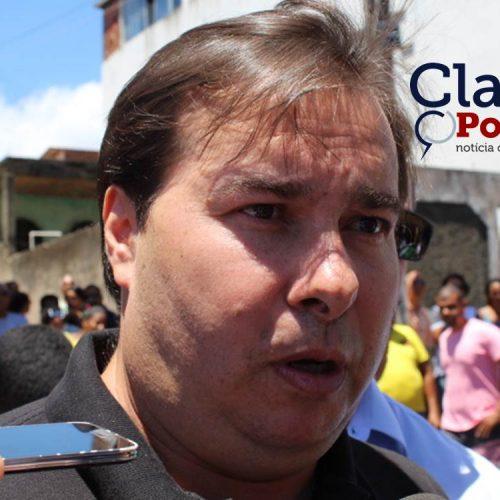 """""""Só não vota a Reforma da Previdência quem não tem responsabilidade com o Brasil"""", dispara Rodrigo Maia"""