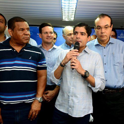 ACM Neto inaugura primeiro posto de saúde da Capelinha de São Caetano