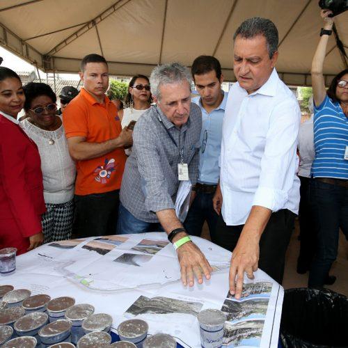 Rui autoriza construção de 144 unidades habitacionais no Bonfim