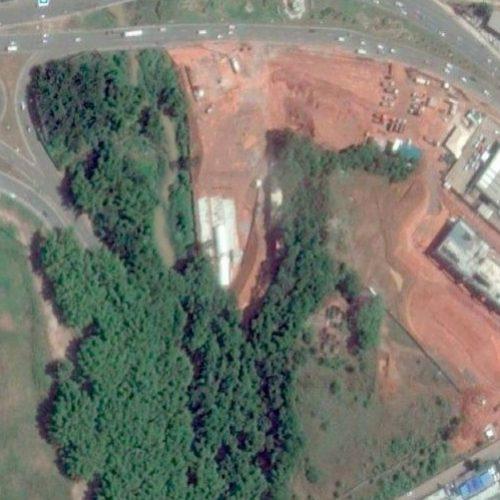 Imagens aéreas demonstram devastação ambiental da CCR Metrô no aeroporto