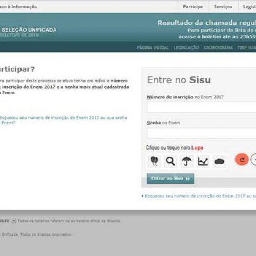 Lista de aprovados no Sisu é divulgada pelo MEC