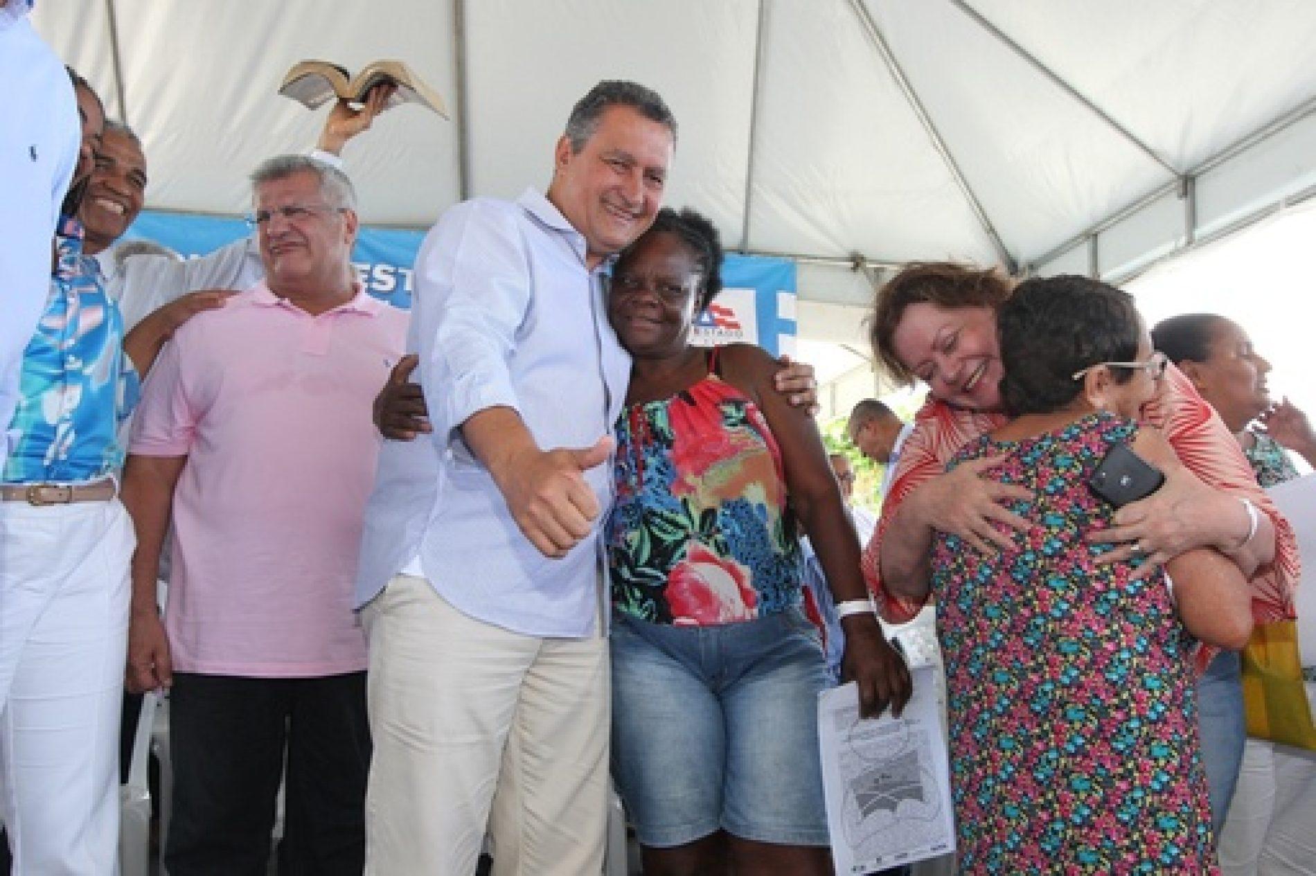 Investimentos do Estado fazem de Salvador a capital número um, no Nordeste, em esgotamento sanitário, diz Rui