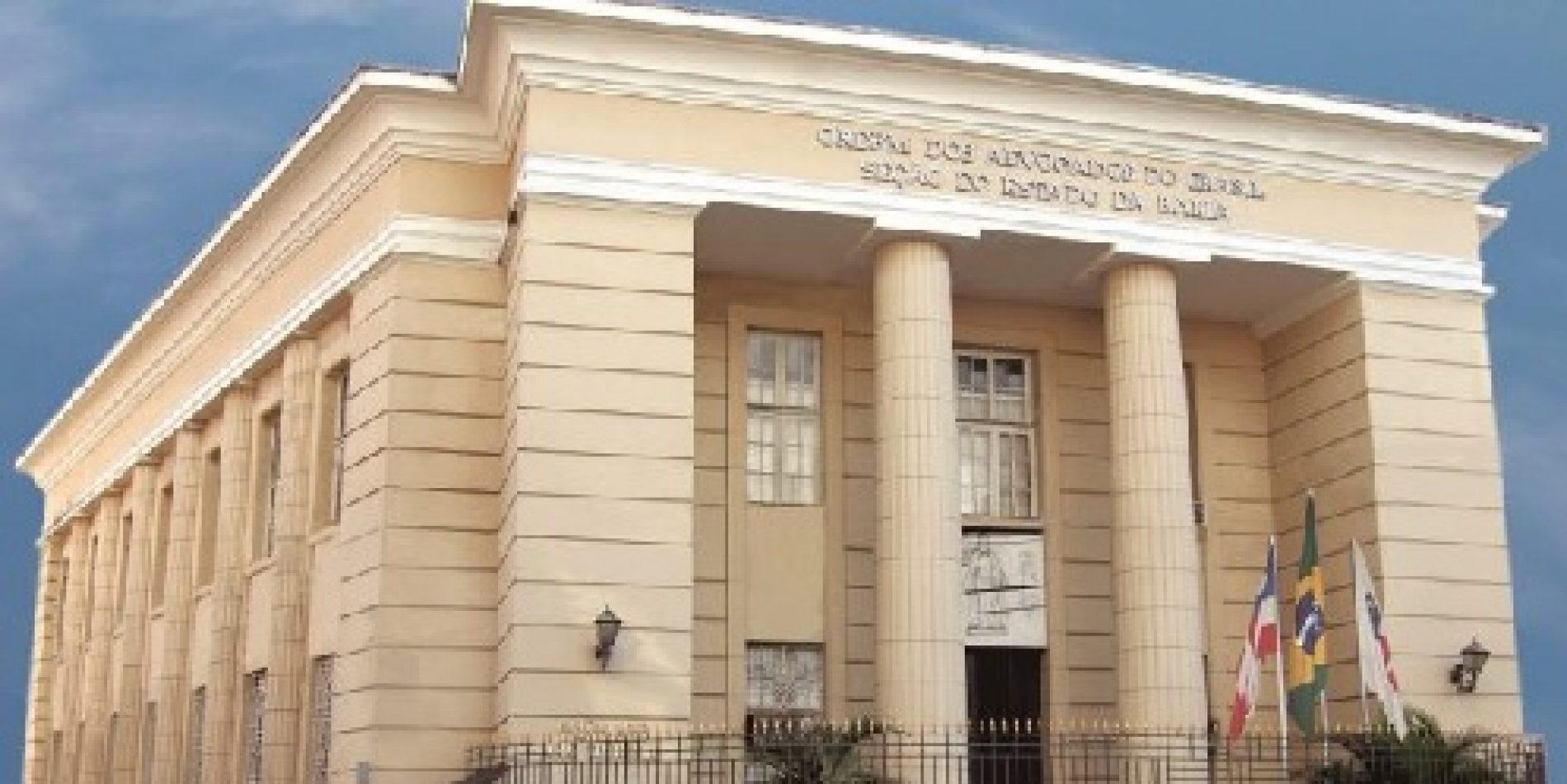 OAB emite nota de repúdio após cenas de sexo em delegacia de Camaçari